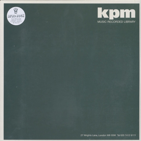 KPM 1000 Series - Afro Rock