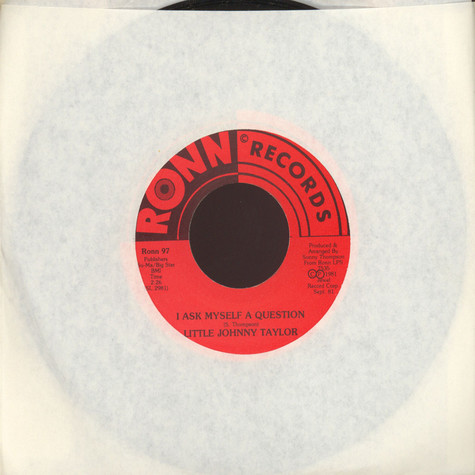 Little Johnny Taylor - I Ask Myself A Question
