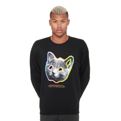 Odd Future (OFWGKTA) - OFWGKTA Tron Cat Sweater