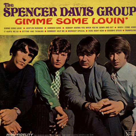 Spencer Davis Group, The - Gimme Some Lovin'