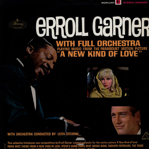 Erroll Garner With Full Orchestra Conducted By Leith Stevens - OST A New Kind Af Love