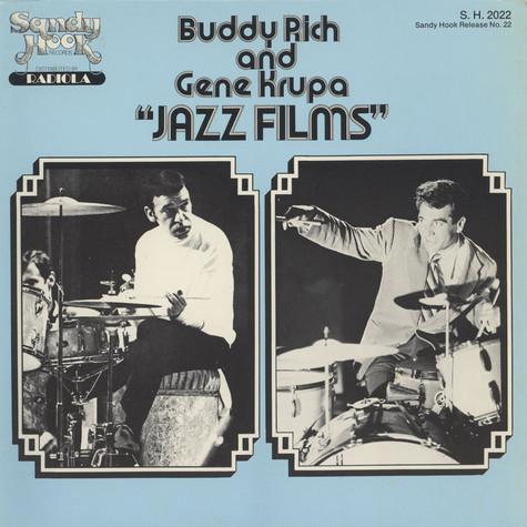 Buddy Rich and Gene Krupa - Jazz Films