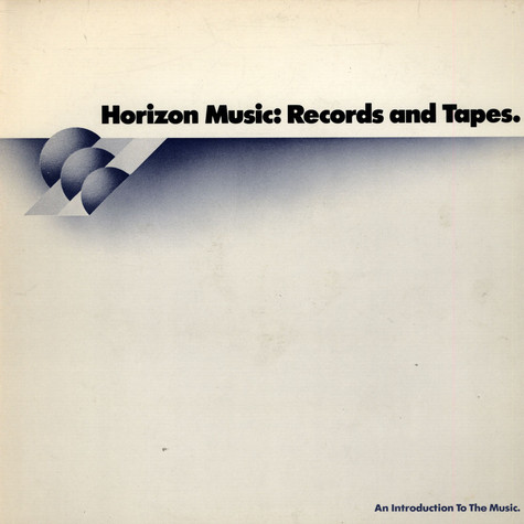 V.A. - Horizon Music: Records And Tapes. Sampler #1