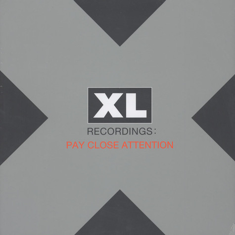 V.A. - Pay Close Attention - 25 Years of XL Recordings