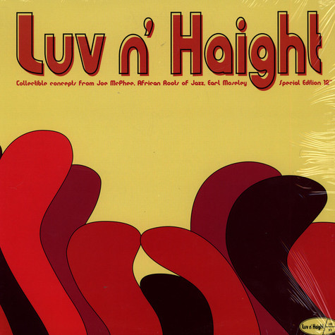 """V.A. - Luv N' Haight Special Edition 12"""""""