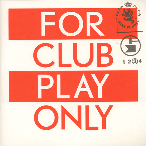 Duke Dumont - For Club Play Only Part 3