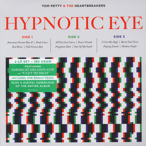 Tom Petty & The Heartbreakers - Hypnotic Eye Limited Edition