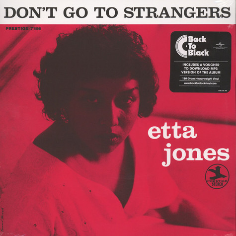 Etta Jones - Don't Go To Strangers Back To Black Edition