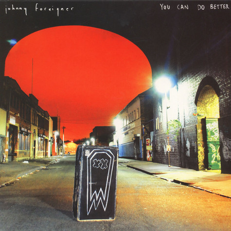 Johnny Foreigner - You Can Do Better Red Vinyl Edition