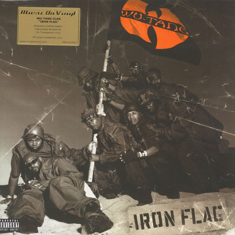 Wu-Tang Clan - Iron Flag Clear Vinyl Edition