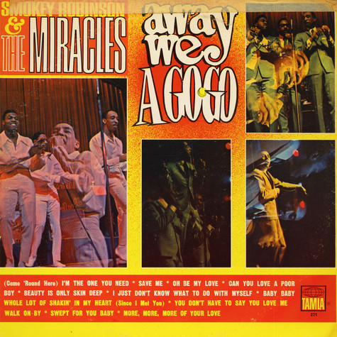 Miracles, The - Away We A Go-Go