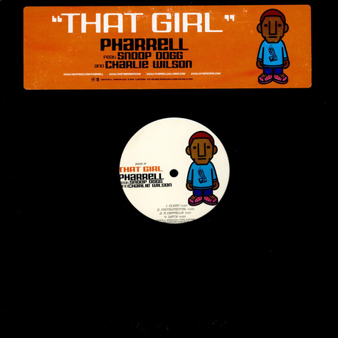 Pharrell Williams - That Girl feat. Snoop Dogg And Charlie Wilson