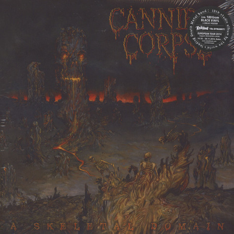 Cannibal Corpse - A Skeletal Domain Black Vinyl Edition