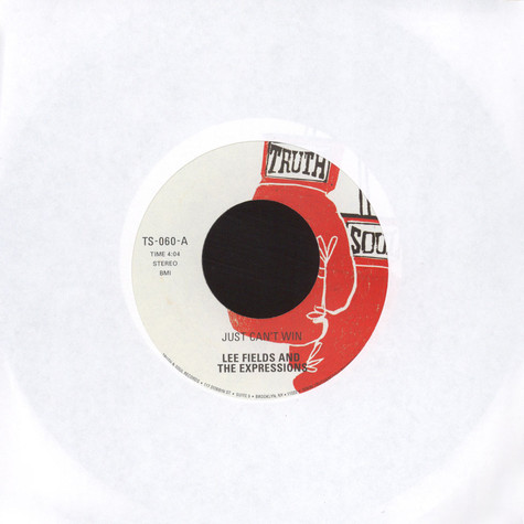 Lee Fields & The Expressions - Just Can't Win / Still Gets Me Down