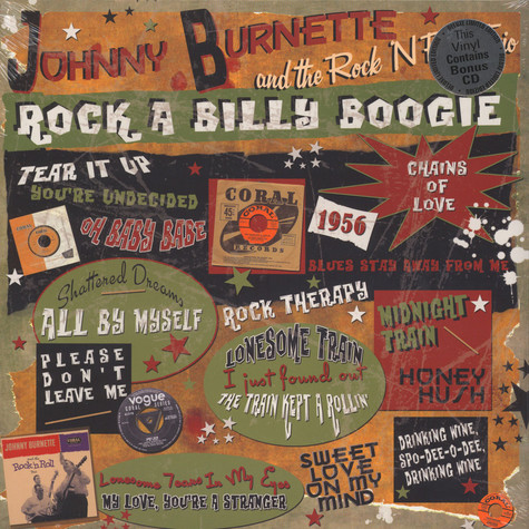 Johnny Burnette & the Rock'N'Roll Trio - Rock A Billy Boogie