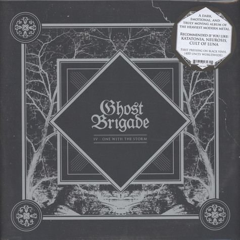 Ghost Brigade - IV: One With The Strom Black Vinyl Edition
