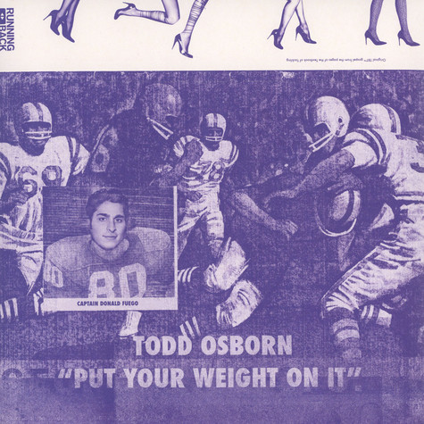 Todd Osborn - Put Your Wheight On It