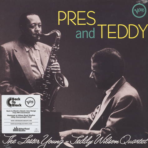 Lester Young / Teddy Wilson - Pres & Teddy Back To Black Edition