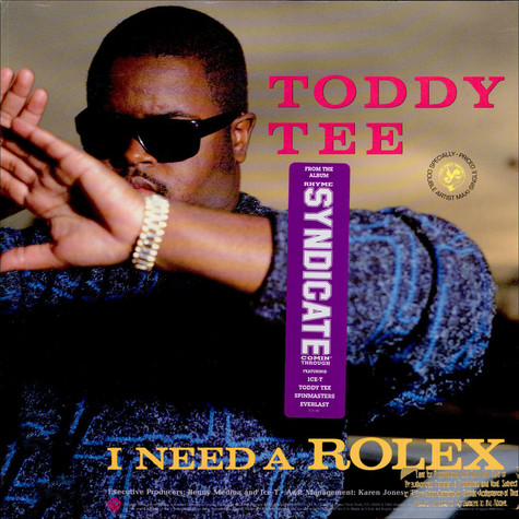 Toddy Tee / Domination - I Need A Rolex / You Haven't Heard Nothing