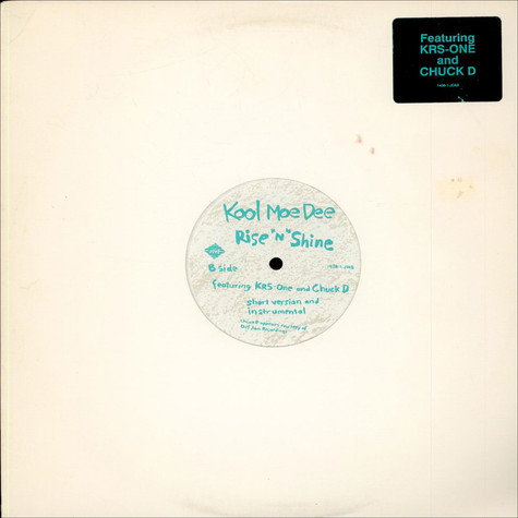 """Kool Moe Dee Featuring KRS-One And Chuck D - Rise """"N"""" Shine"""