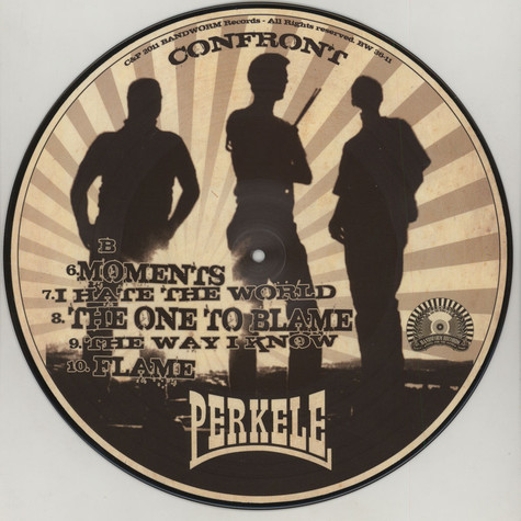 Perkele - Confront Picture Disc