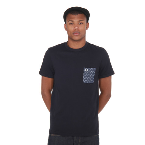 Fred Perry - Drake's Paisley Print Pocket T-Shirt