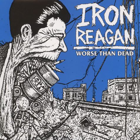 Iron Reagan - Worse Than Dead Clear Vinyl Edition