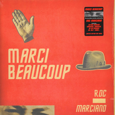 Roc Marciano - Marci Beaucoup Red Vinyl Edition