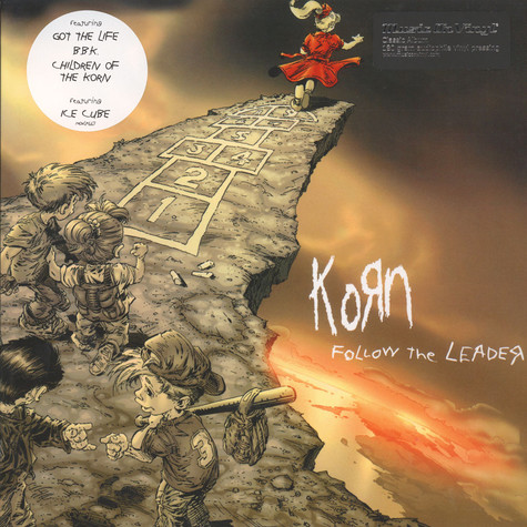 Korn - Follow The Leader Black Vinyl Edition