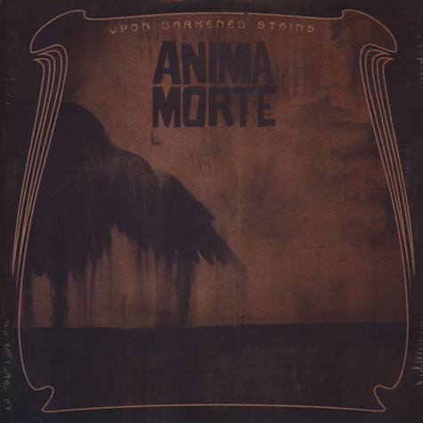 Anima Morte - Upon Darkened Stains Black Vinyl Edition