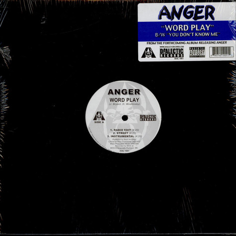 Anger - Word Play / You Don't Know Me