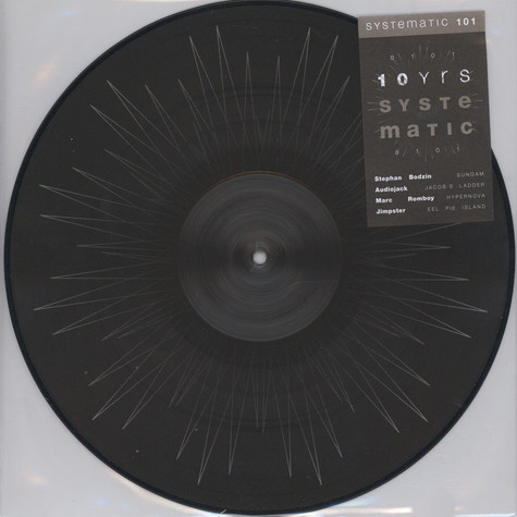 V.A. - 10 Yrs Of Systematic Picturedisc