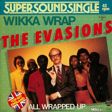 Evasions, The - Wikka Wrap / All Wrapped Up