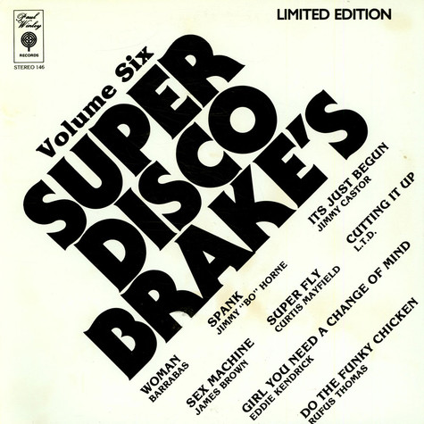 V.A. - Super Disco Brake's Volume Two