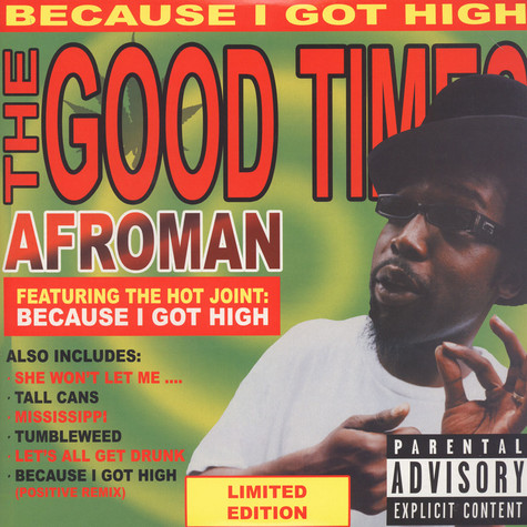 Afroman - The Good Times Colored Vinyl Edition