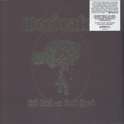 Weedeater - God Luck And Good Speed Colored Vinyl Edition