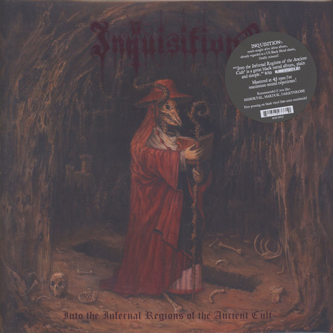 Inquisition - Into The Infernal Regions Black Vinyl Edition