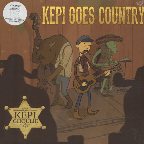 Kepi Ghoulie - Kepi Goes Country Colored Vinyl Edition