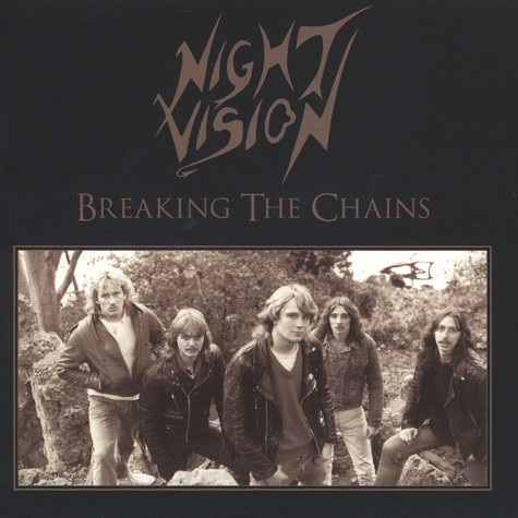 Night Vision - Breaking The Chains Gold Vinyl Edition
