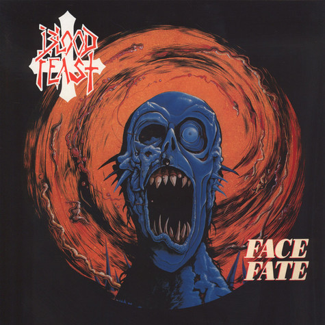 Blood Feast - Face Fate Splatter Vinyl Edition