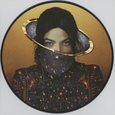 Michael Jackson - Slave2 The Rhythm feat. Justin Bieber Picture Disc Edition