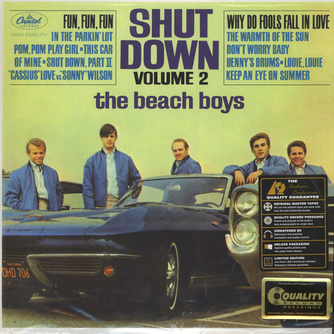 Beach Boys, The - Shut Down Volume 2 200g Vinyl, Mono Edition
