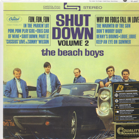 Beach Boys, The - Shut Down Volume 2 200g Vinyl, Stereo Edition