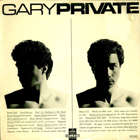 Gary Private - Reach Out (I'll Be There)