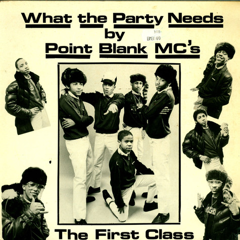 Point Blank MC's - What The Party Needs