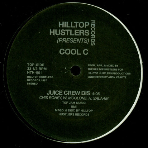 Cool C - Juice Crew Dis