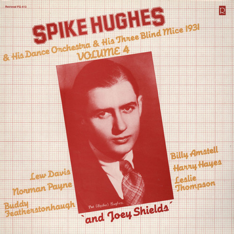 Spike Hughes & His Dance Orchestra & Three Blind Mice - 1931