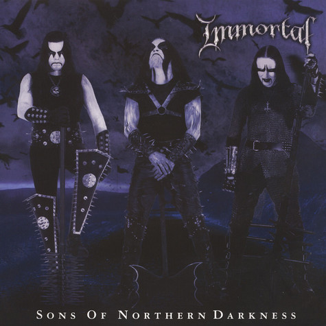 Immortal - Sons Of Northern Darkness Black Vinyl Edition