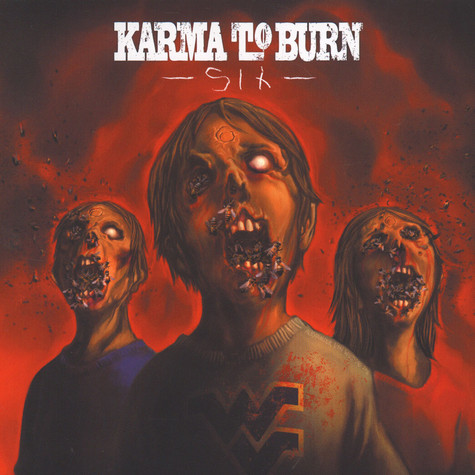 Karma To Burn / Sons Of Alpha Centauri - Split Black Vinyl Edition