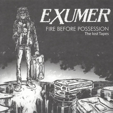 Exumer - Fire Before Possession: The Lost Tapes Black Vinyl Edition